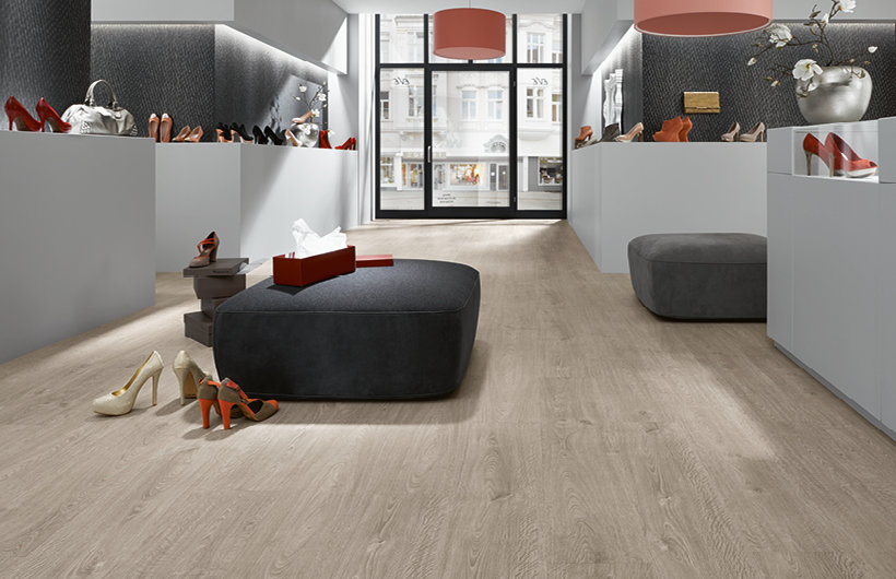 LVT Design Flooring, Dekore in Holzoptik